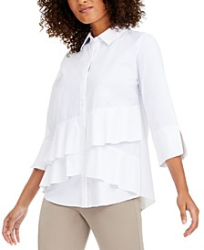 Tiered Shirt, Created for Macy's