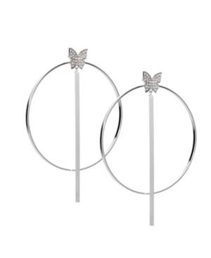 Bx Glow Duo Hoop Earrings