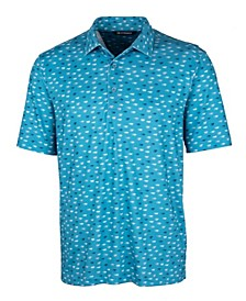 Men's Pike Daub Print Polo Shirt