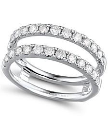 Diamond (1 ct. t.w.) Ring Enhancer in 14K White Gold