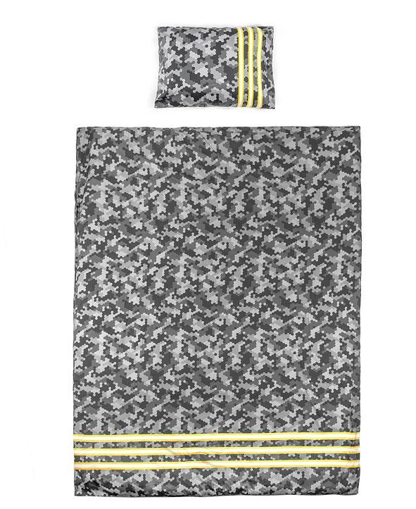Tadpoles 2 Piece Cool Camo Duvet Cover Pillowcase Set, Twin