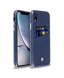 Premium Leather Case with ID Credit Card Slot for Apple iPhone XR