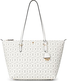 Pebble Faux-Leather Keaton Tote