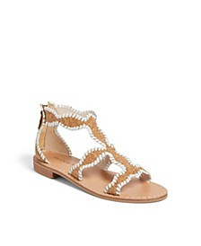 Jackie Cork Gladiator Sandals