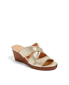Jackie Mid Wedges