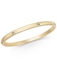 Crystal Embellished Bangle Bracelet, Created for Macy's