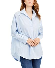 Adisian Cotton Striped Shirt