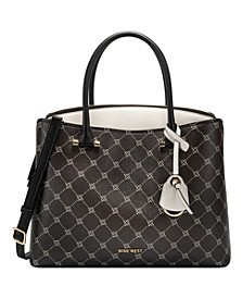 Eloise Logo Jet Set Large Satchel