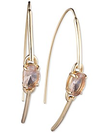 Stone Theader Earrings