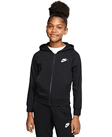 Sportswear Big Girls Full Zip Hoodie