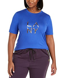 Trendy Plus Size LA NY Graphic T-Shirt