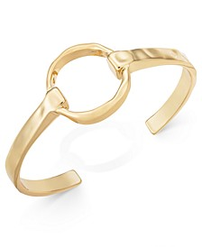 Gold-Tone Circle Cuff Bracelet, Created for Macy's