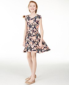 Big Girls Floral Dress, Created for Macy's