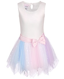 Toddler Girls Fairy-Hem Tutu Dress