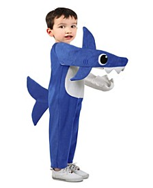 Baby Shark Big and Toddler Girl and Boy Chompin' Baby Shark Costume with Sound Chip