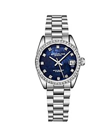 Women's Silver Tone Stainless Steel Bracelet Watch 31mm