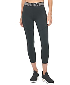 Sport Mesh-Trimmed High-Waist Leggings