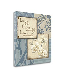 Live Laugh Love by Jo Moulton Giclee Print on Gallery Wrap Canvas