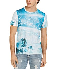Men's Beach Scenery T-Shirt