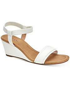 Women's Step 'N Flex Gillee Casual Wedge Sandals, Created for Macy's