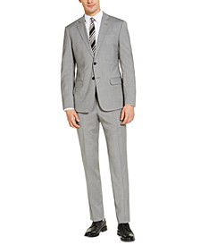 Men's Classic-Fit Light Gray Suit Separates, Created for Macy's