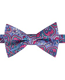 Men's Botanical Paisley Bow Tie