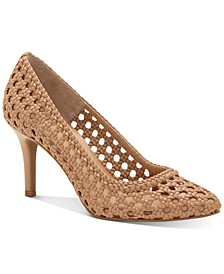 INC Women's Zitah Mid-Heel Pumps, Created for Macy's