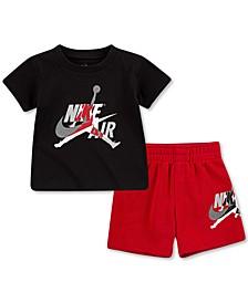 Baby Boys 2-Pc. Jumpman Classics T-Shirt & Shorts Set