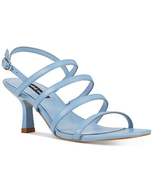 Nine West Smooth Strappy Sandals
