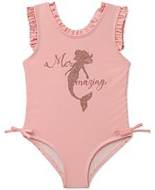Baby Girls Mermaid One-Piece Swimsuit