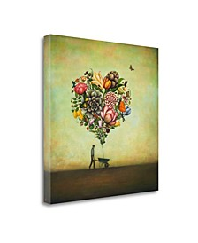Big Heart Botany by Duy Huynh Giclee Print on Gallery Wrap Canvas
