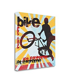 Bike by Jo Moulton Giclee Print on Gallery Wrap Canvas