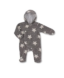 Dream Baby Boys and Girls Hooded Sherpa Pram Suit
