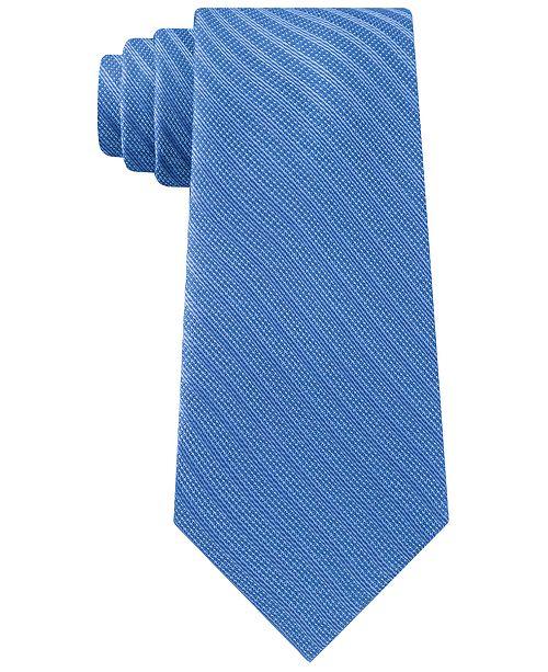 Calvin Klein Men's Weaved Stripe Tie