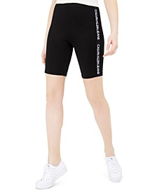 Logo-Tape Bike Shorts
