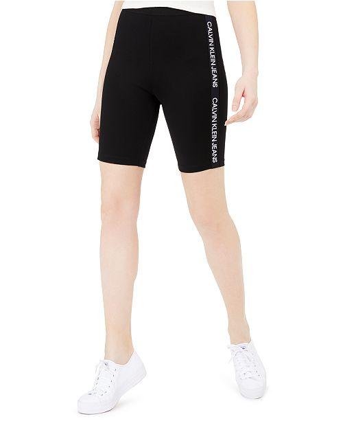 Calvin Klein Jeans Logo-Tape Bike Shorts