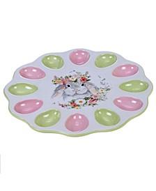 Sweet Bunny 3-D Egg Plate