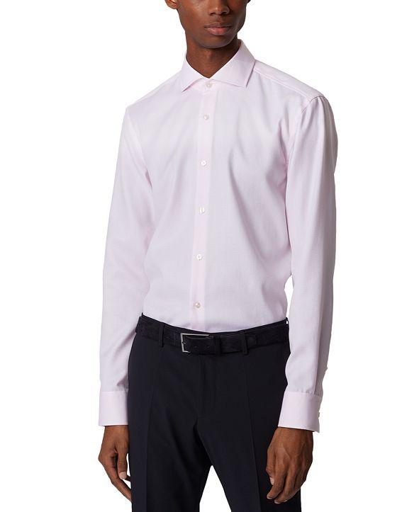 Hugo Boss BOSS Men's Jason Light Pastel Pink Shirt