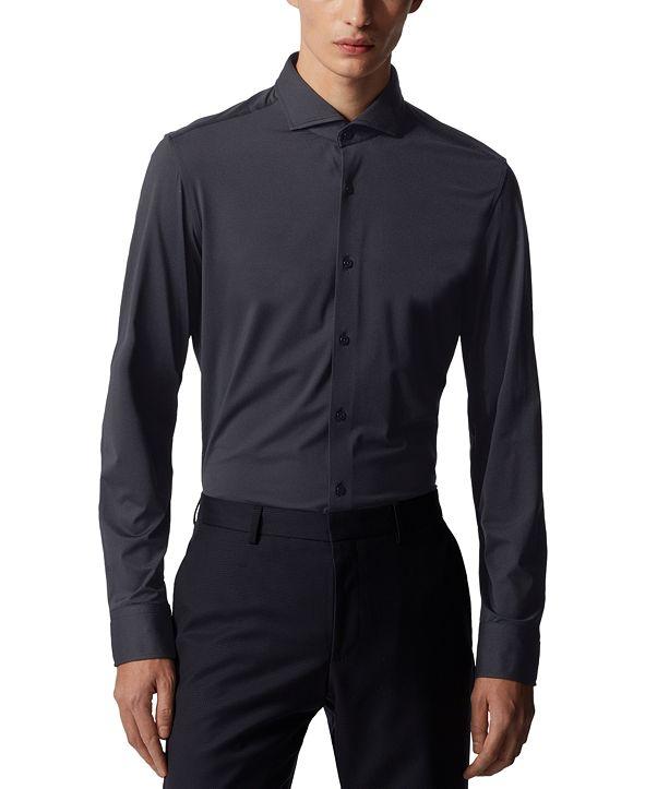 Hugo Boss BOSS Men's Jason Dark Blue Dress Shirt