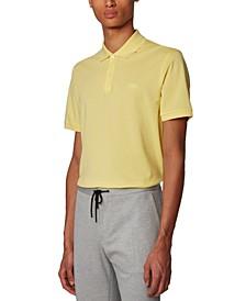 BOSS Men's Pallas Bright Yellow Polo Shirt