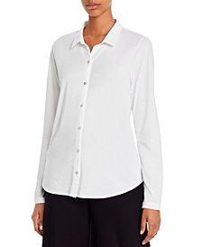 Eileen Fisher SYSTEM Organic Cotton Classic Shirt