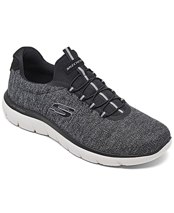 Skechers Men's Summits Forton Slip-On Casual Sneakers from Finish Line