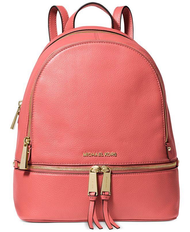 Michael Kors Rhea Zip Small Backpack