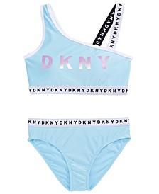 Big Girls 2-Pc. One-Shoulder Bikini