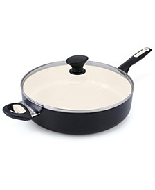 Rio Ceramic Nonstick 5-Qt. Saute Pan