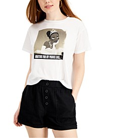 Juniors' Princess and the Frog Graphic-Print T-Shirt
