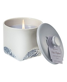 Viola Driftwood Ceramic Small candle