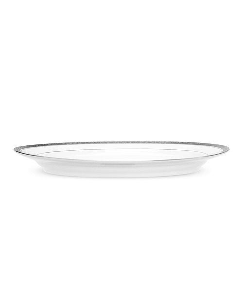 Noritake Crestwood Platinum Small Oval Platter