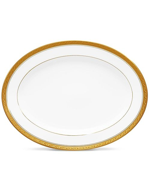 Noritake Crestwood Gold Butter Tray