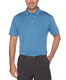 Men's Big & Tall Textured Golf Polo